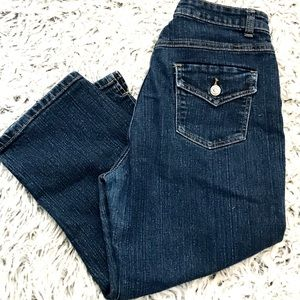 COS Cropped Denim Mid Rise Jeans